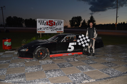 Beale Wins First Career Late Model Feature At Columbus 151