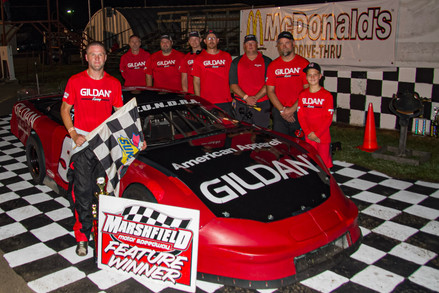 Beale Wins Super Late Model Feature at Marshfield Motor Speedway