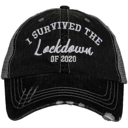 I Survived The Lockdown of 2020 Trucker Hat
