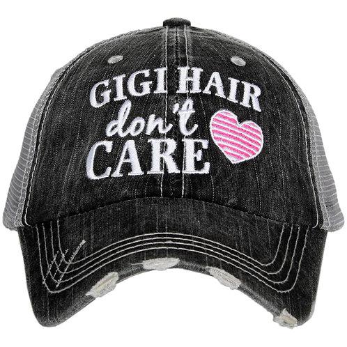 GiGi Hair Don't Care Trucker Hat