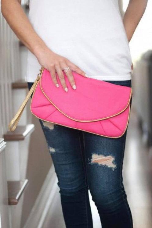 Hot Pink Callie Purse