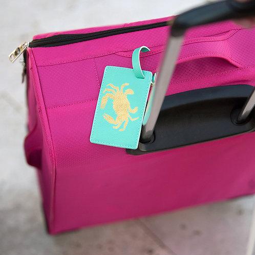 Crab Luggage Tag
