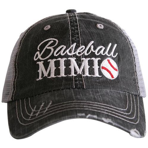 Baseball MiMi Trucker Hat