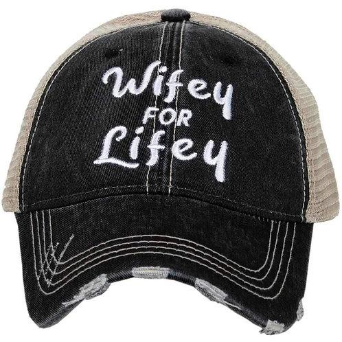 Wifey For Lifey Trucker Hat