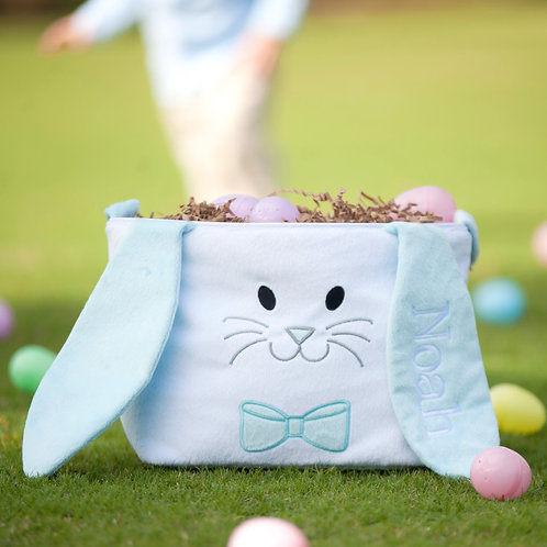 Plush Hippity Hoppity Easter Bucket
