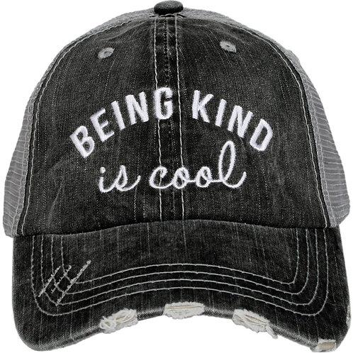 Being Kind is Cool Women's Trucker Hat