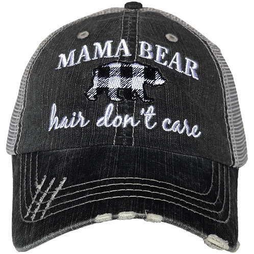 Momma Bear Hair Don't Care Trucker Hat