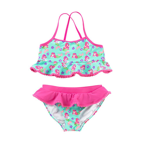 Size SMALL - Mermaid Kiss Girl's Swim Set
