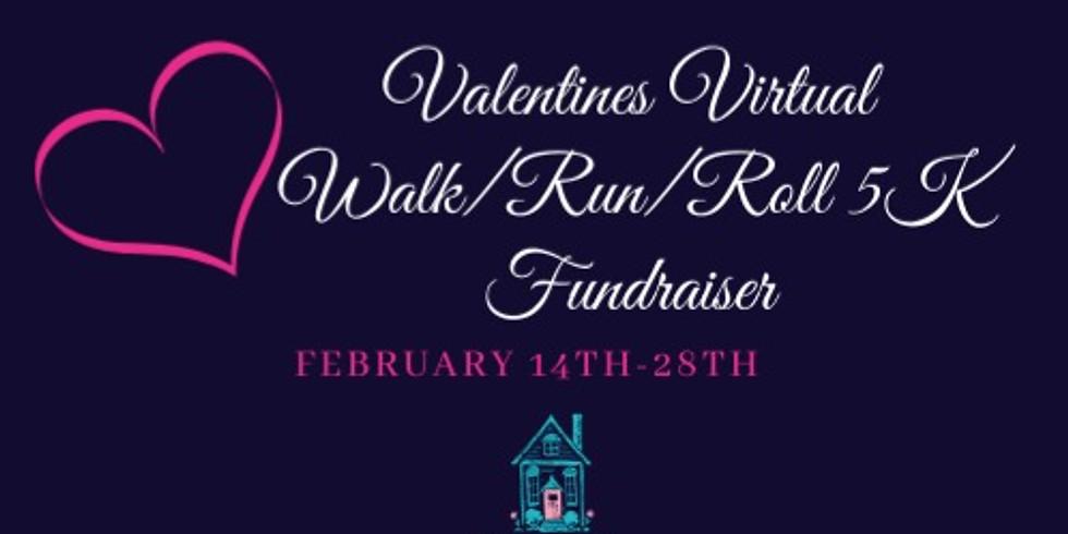 Valentines Virtual Walk/Run/Roll 5K Fundraiser