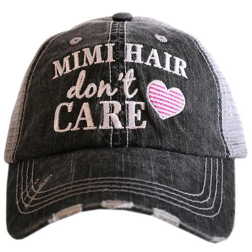 Mimi Hair Don't Care Trucker Hat