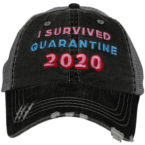 I Survived Quarantine 2020 Trucker Hat