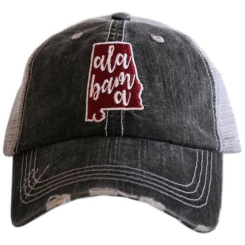 Alabama State Trucker Hat