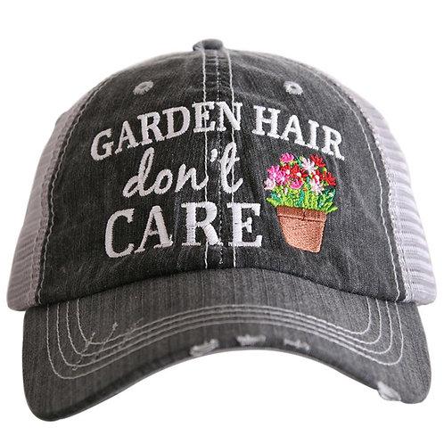 Garden Hair Don't Care Trucker Hat