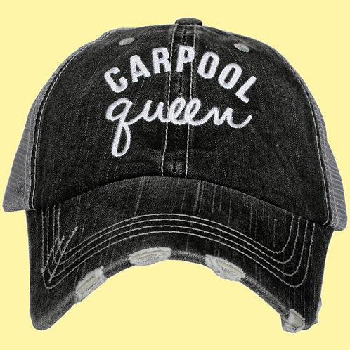 Carpool Queen Women's Trucker Hat