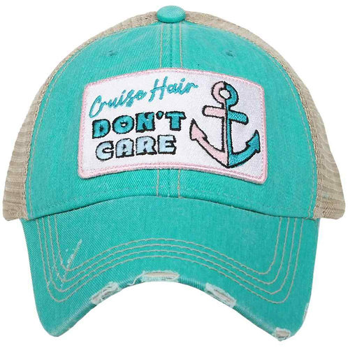 Cruise Hair Don't Care Trucker Hat