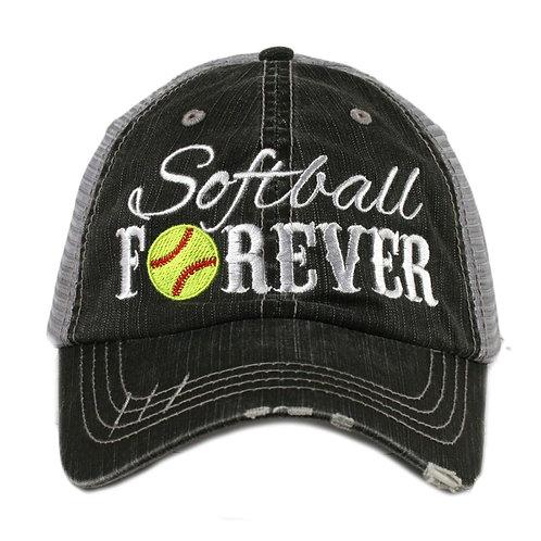Softball Forever Trucker Hat