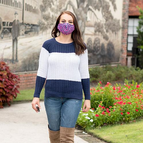 Adult, Printed, Adjustable, Face Masks