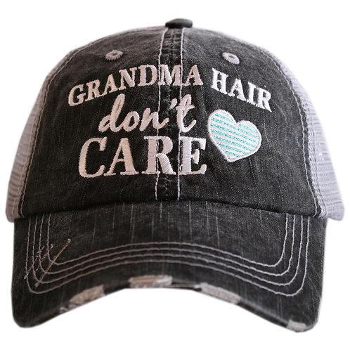 Grandma Hair Don't Care Trucker Hat