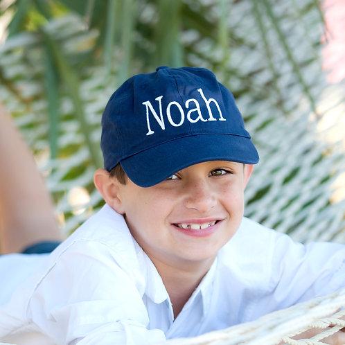 Navy Kid's Cap