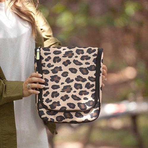 Wildside Leopard Hanging Travel Case