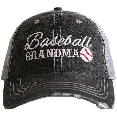 Baseball Grandma Trucker Hat