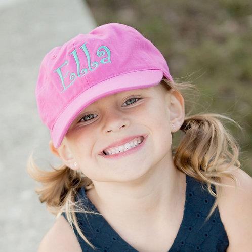 Hot Pink Kid's Cap