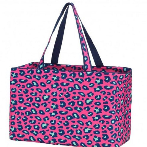 Hot Pink Leopard Ultimate Tote