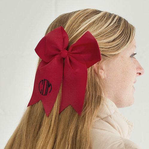 Garnet Hair Bow