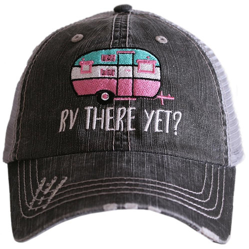 RV There Yet Trucker Hat
