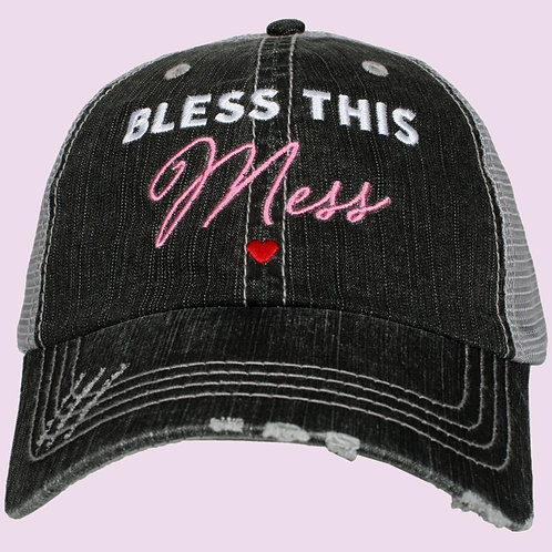 Bless This Mess Trucker Hat