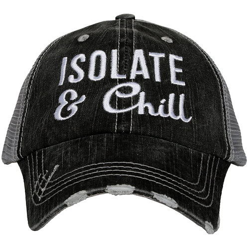 Isolate and Chill Women's Trucker Hat