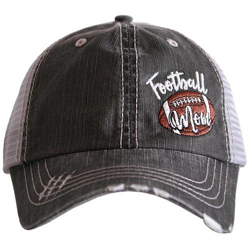 Football Mom (Side Patch) Trucker Hat