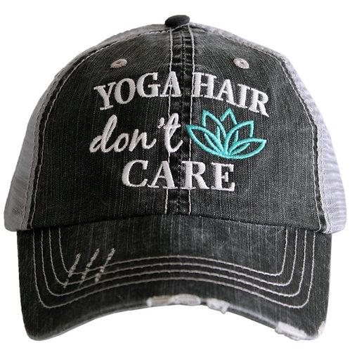 Yoga Hair Don't Care Trucker Hat