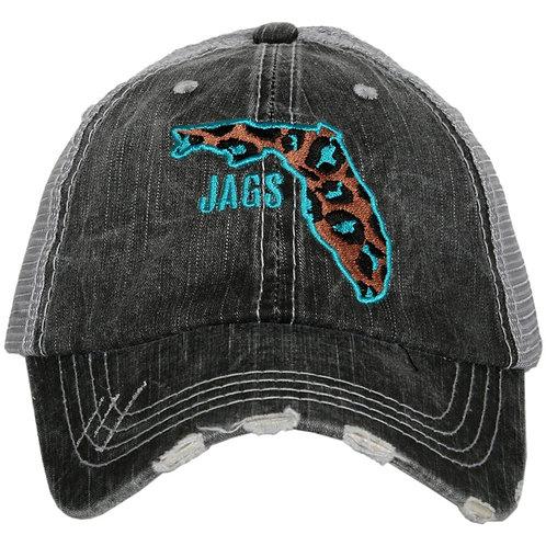JAGS Leopard State Trucker Hat