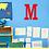 Thumbnail: Classic Letter Wood Monogram