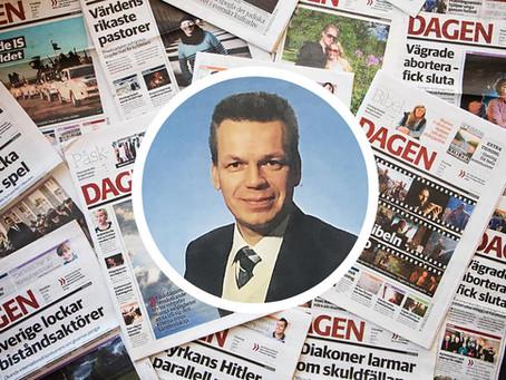 Inget nytt under solen med tidningen Dagen