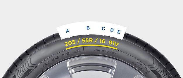 tyre sidewall
