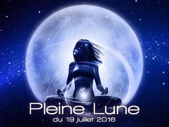 Pleine Lune du 19 juillet 2016
