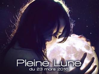 Pleine Lune et Éclipse du 23 mars 2016