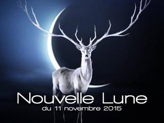 Nouvelle Lune du 11 novembre 2015