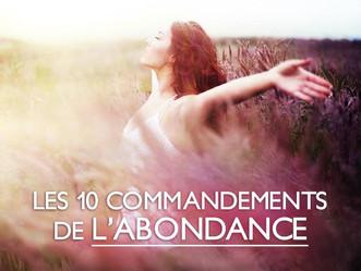 Les 10 Commandements de l'Abondance