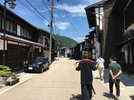 木曽平沢で古民家実測しました。