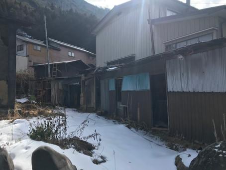 木曽平沢に小屋を新設