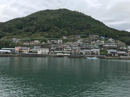 学生の研究対象地訪問その3 三重県熊野市の漁村