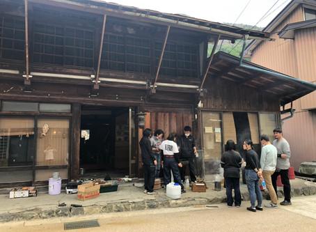 木曽平沢で古民家を直しています