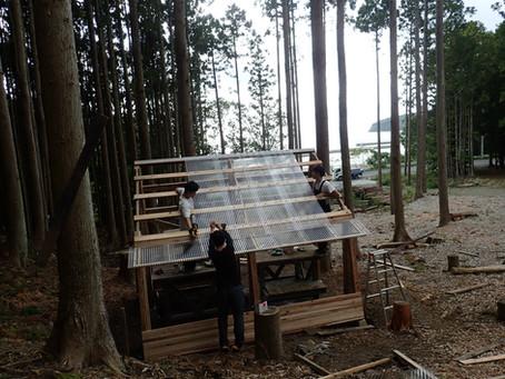 もものうらビレッジに釜屋を建てました