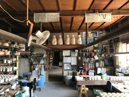 学生の研究対象地訪問その2 岐阜県土岐市の窯業