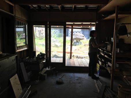 平沢の改修を進めています。