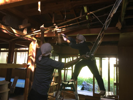 木曽平沢の古民家活用プロジェクトにお邪魔しました。