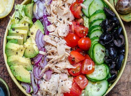 Salată de Ton cu 🥑Avocado🥑
